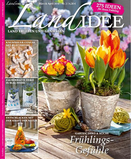 Inhaltsverzeichnis LandIDEE Ausgabe 0218 | LandIDEE Magazin