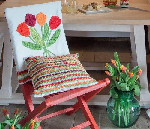 Tulpenmuster Zum Selberhäkeln Landidee Magazin
