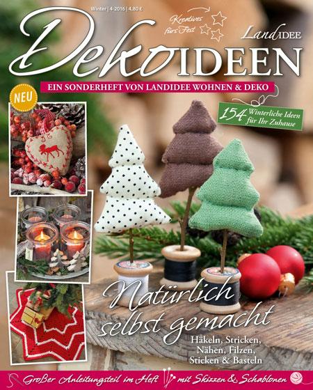 Zeitschrift Dekoration dekoideen landidee magazin