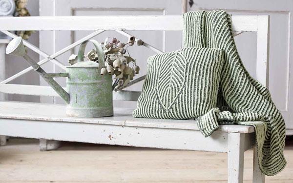 Decke und Kissen