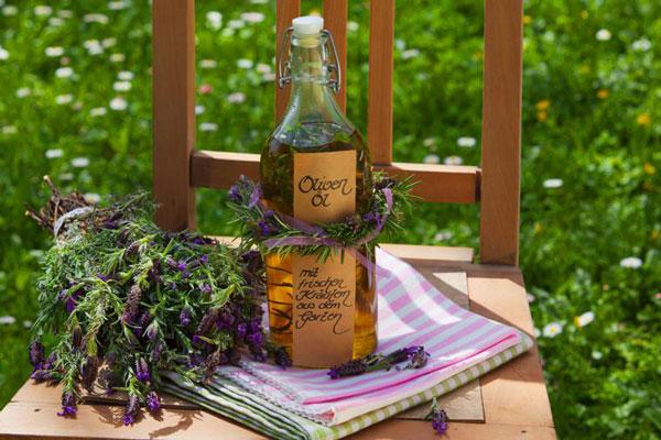 aromatisiertes Öl