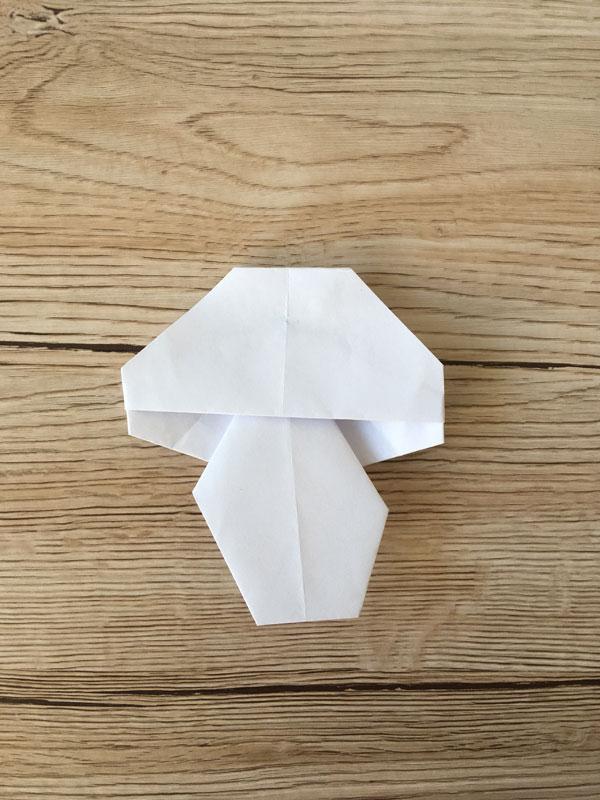 Origami-Pilz
