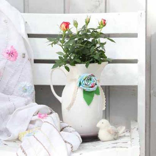 Tierdeko aus filz basteln landidee magazin for Manschette blumentopf basteln