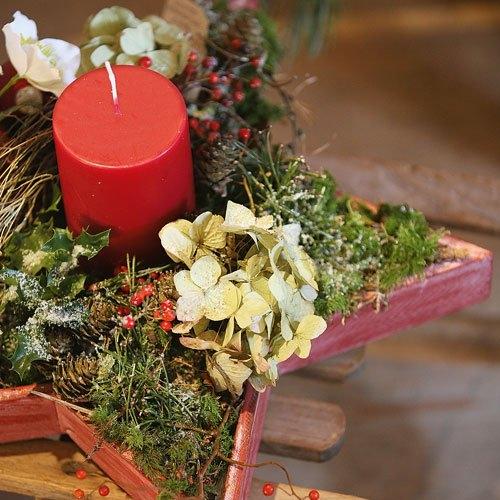 Adventsgestecke Aus Dem Wald Selber Basteln Landidee Magazin