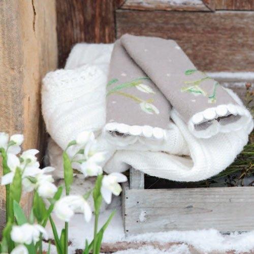 zarte schneegl ckchen landidee magazin. Black Bedroom Furniture Sets. Home Design Ideas