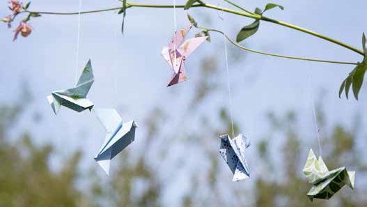 Origami Deko wohnen deko 02 2018 landidee magazin